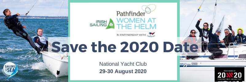 Description image of Irish Sailing Pathfinder Women at the Helm Namechecked by World Sailing Trust