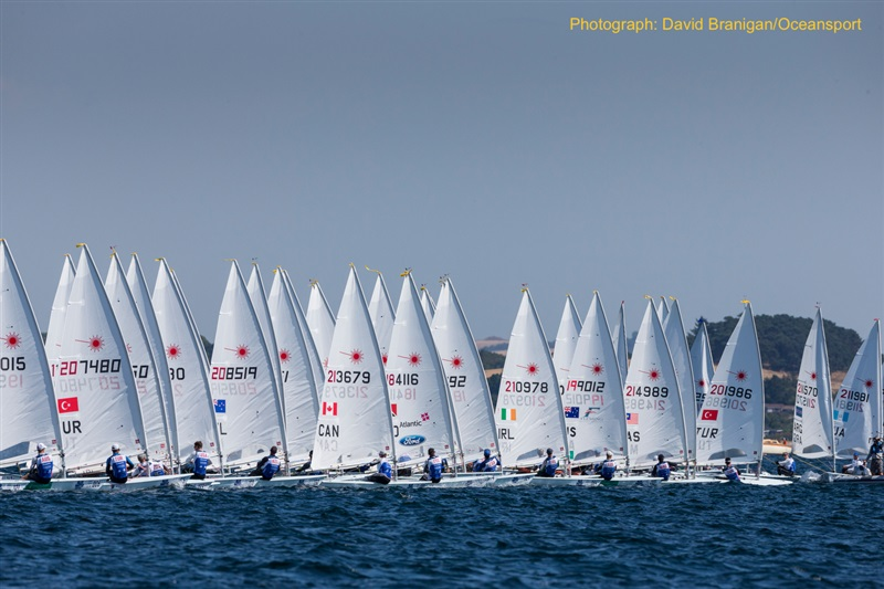 Full line-up of 14 Irish sailors in Aarhus