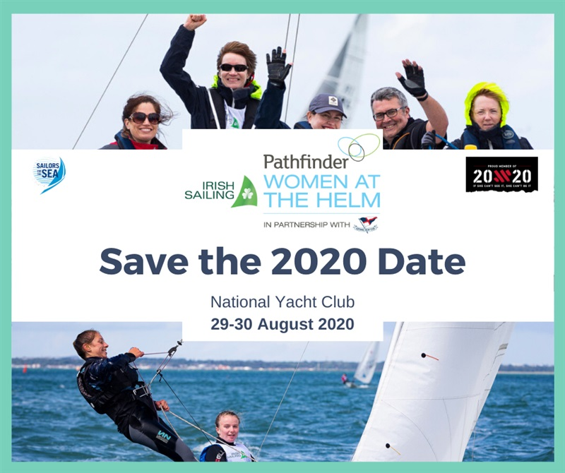 Save the Date for Irish Sailing Pathfinder Women at the Helm 2020