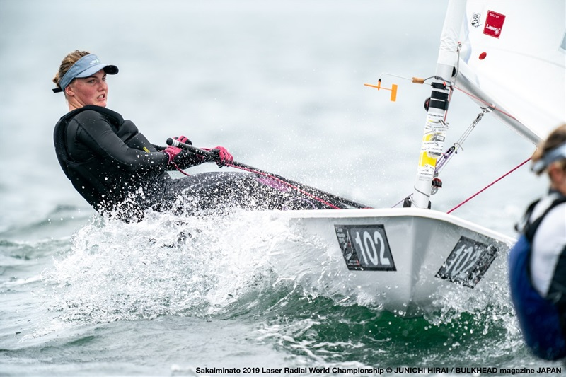 Laser Radial World Championship at Sakaiminato