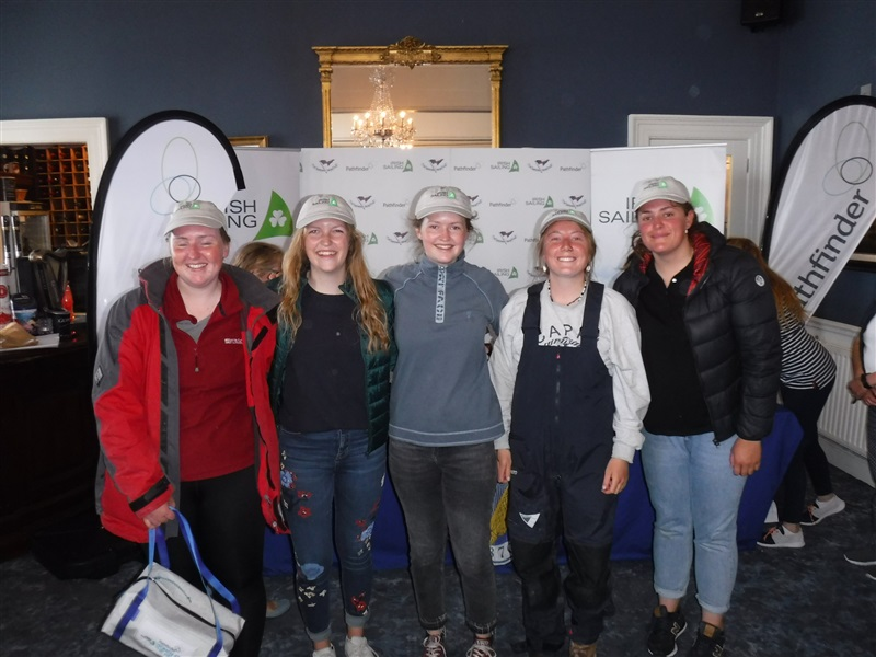 Sligo Yacht Club wins All Women Team Prize at the Pathfinder Women at the Helm
