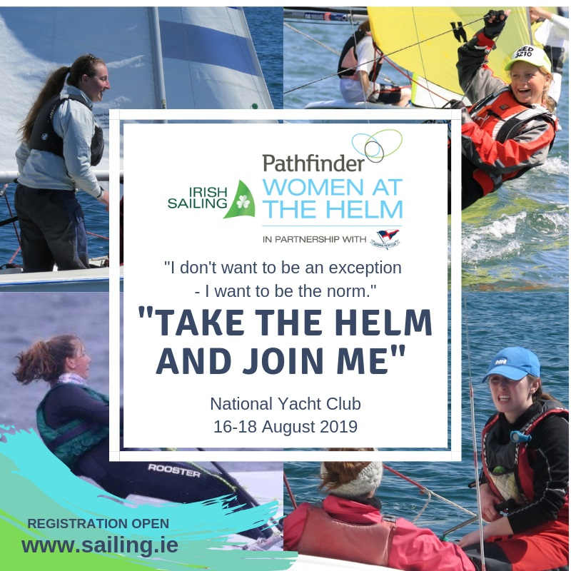 Have You Registered for the Irish Sailing Pathfinder Women At The Helm