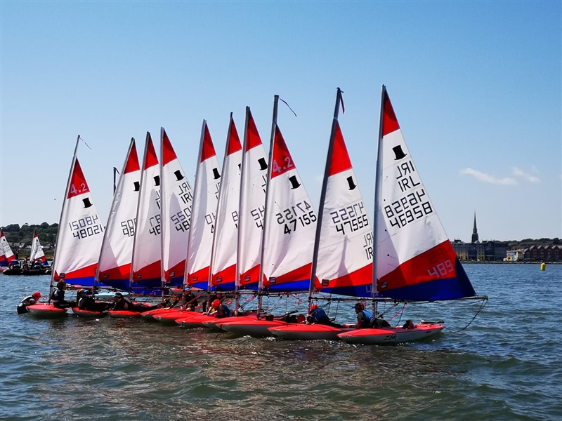 72 Young Topper Sailors Compete