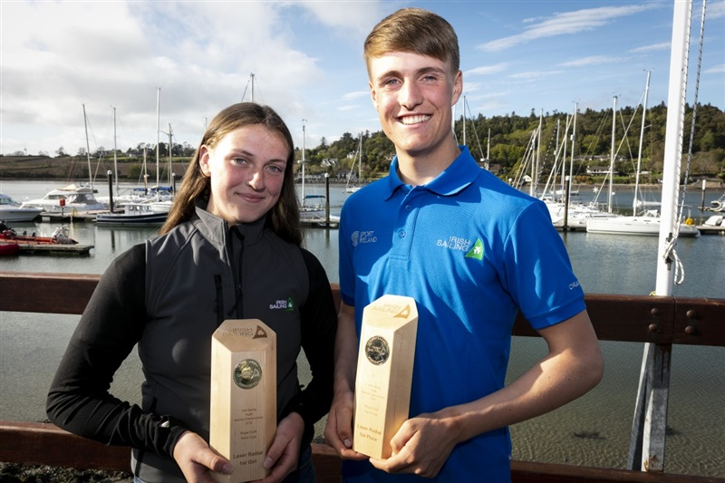 Howth brother and sister tops at Irish Sailing Youth Championships