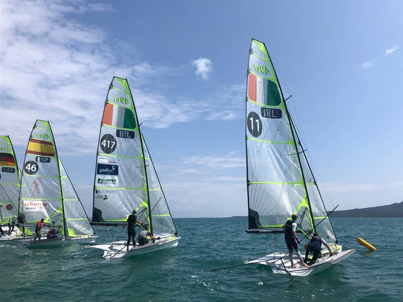 49er sailors prepare for Olympic qualifier in New Zealand
