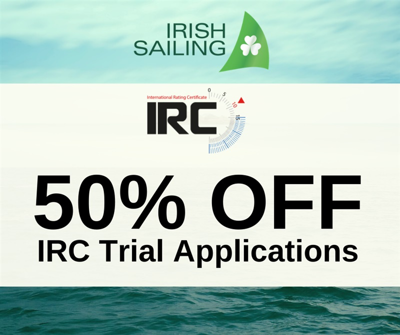 50% OFF IRC Trial Applications
