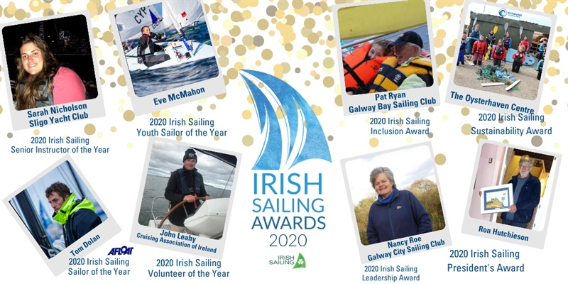 The Winners of the Irish Sailing Awards 2020