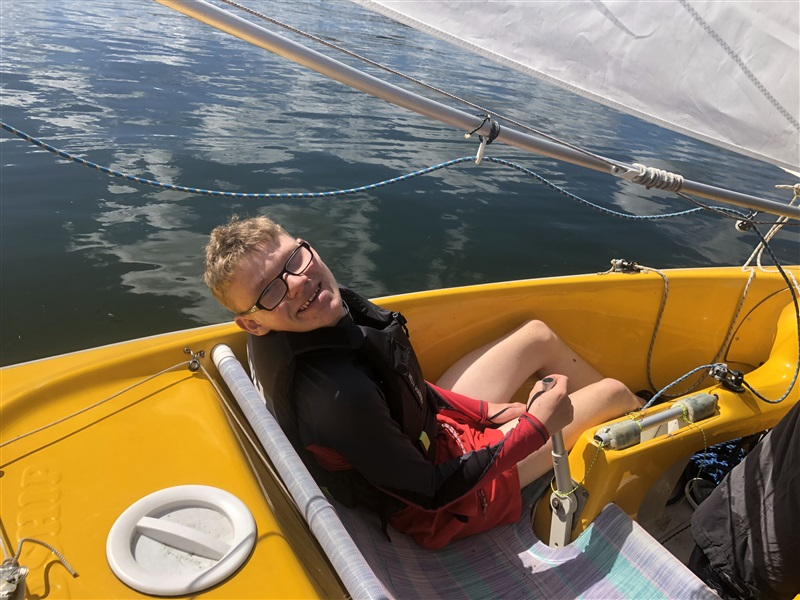 """SUMMER PROVISION"" SCHEME Brings a New Sailor to Bray Sailing Club"