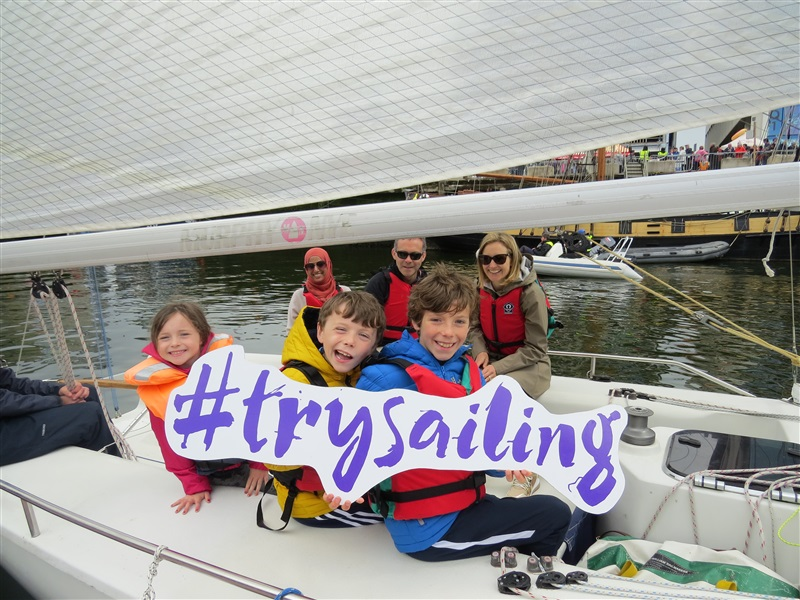Try Sailing at Seafest Cork 2019