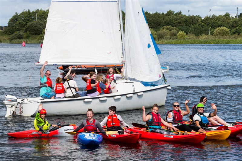 Watersports Inclusion Games Make Big Splash