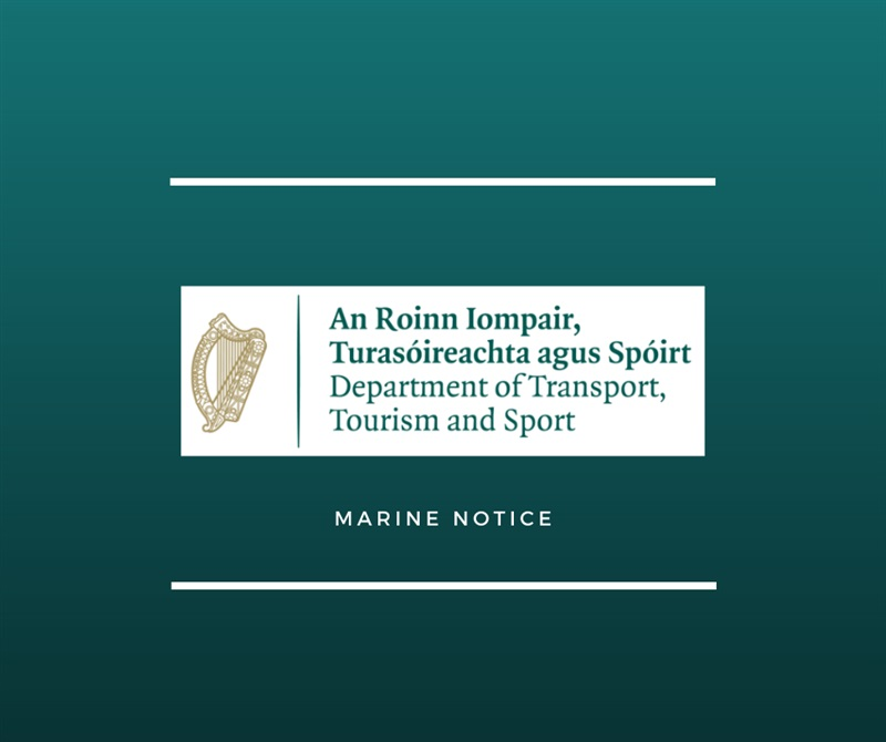 Marine Notice No.38 of 2020 Irish Maritime Administration Stakeholder and Service User Communication and Engagement Survey