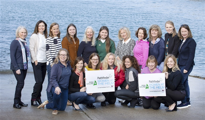 Registration Now Open for the Irish Sailing Pathfinder Women at the Helm Regatta