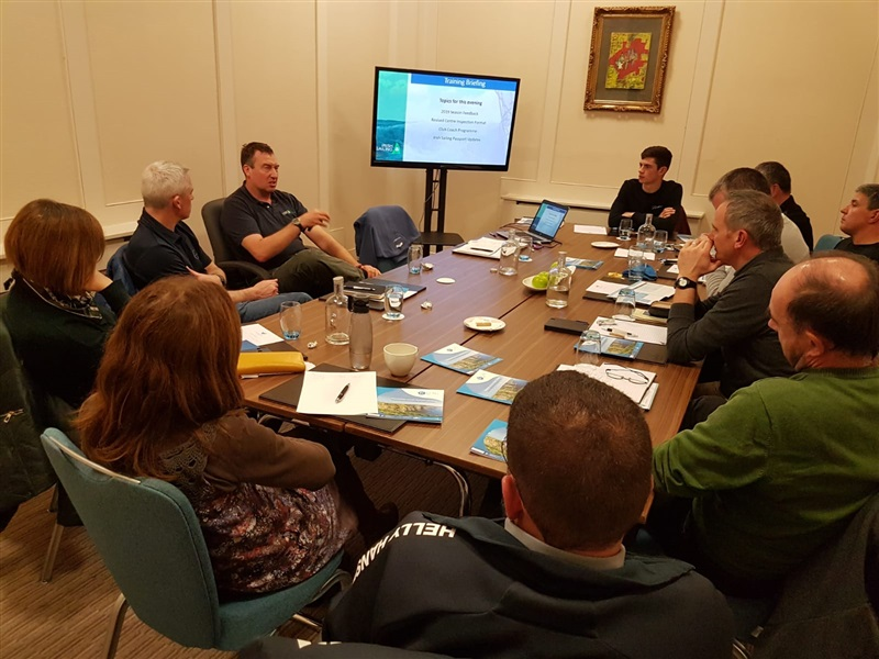 Autumn Cluster and Training Meeting Report