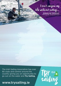 blank try sailing poster